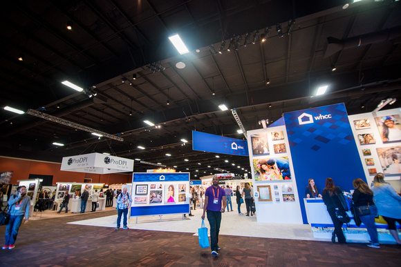 Entering the showroom floor at WPPI 2016 Expo and Conference at the MGM Grand in Las Vegas, NV.