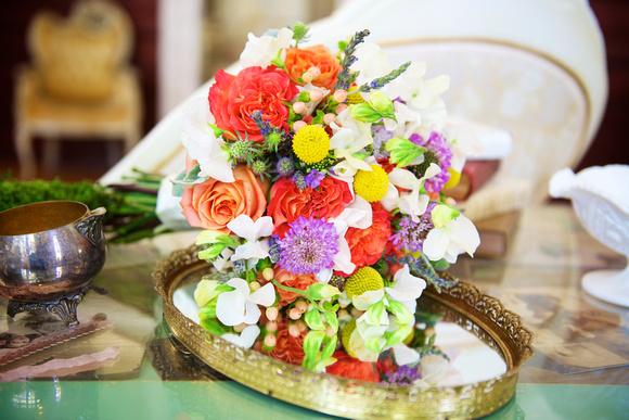 Multicolored Rainbow Bouquet
