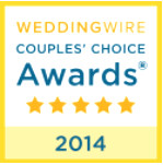 wedding wire couple's choice awards 2012-2016