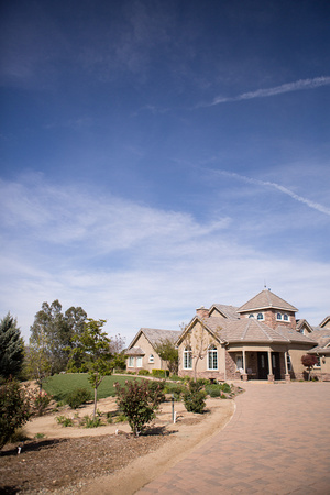 Private residence in Temecula with private vineyard