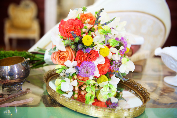Multicolored Rainbow Bouquet